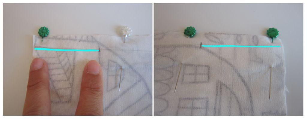 mis nancys, mis peques y yo, tutorial funda de cojin coser laterales