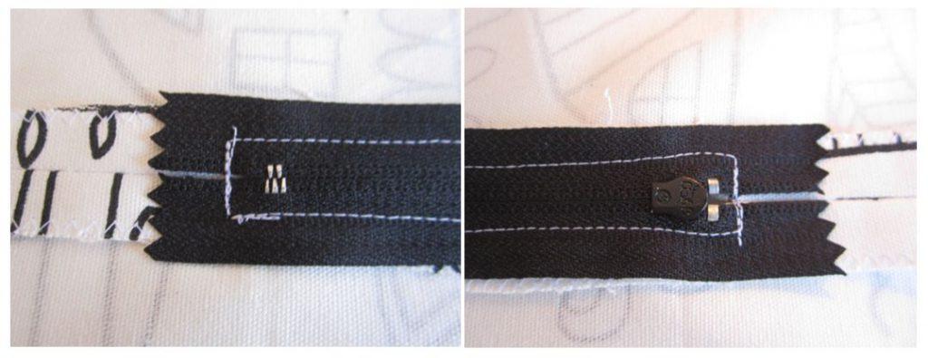 mis nancys, mis peques y yo, tutorial funda de cojin cremallera detalle