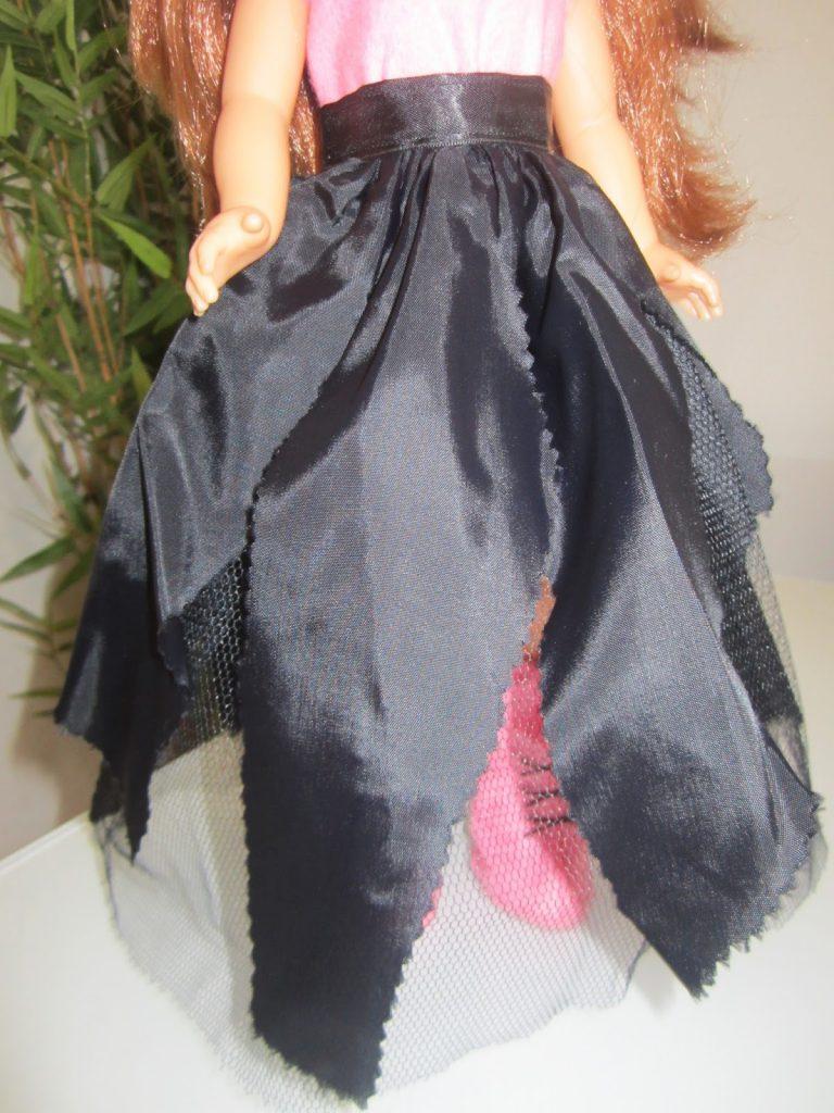 mis nancys, mis peques y yo, disfraz brujilla nancy sobrefalda vestido