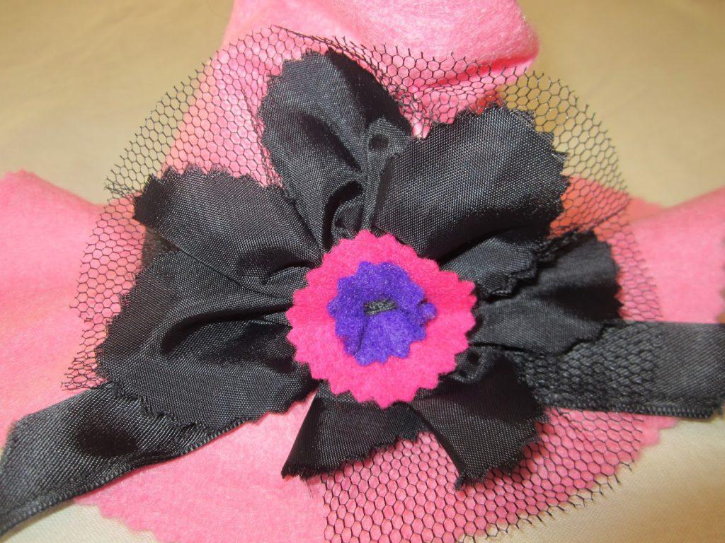 mis nancys, mis peques y yo, disfraz brujilla nancy sombrero flor