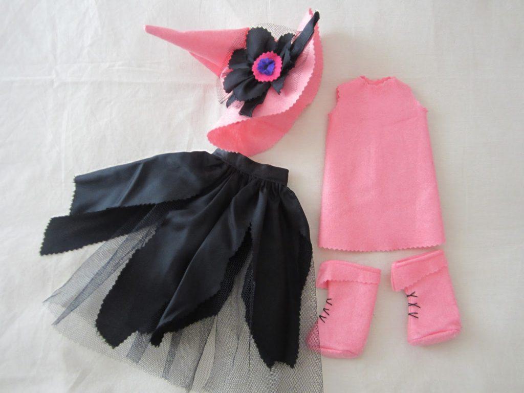 mis nancys, mis peques y yo, disfraz brujilla nancy componentes