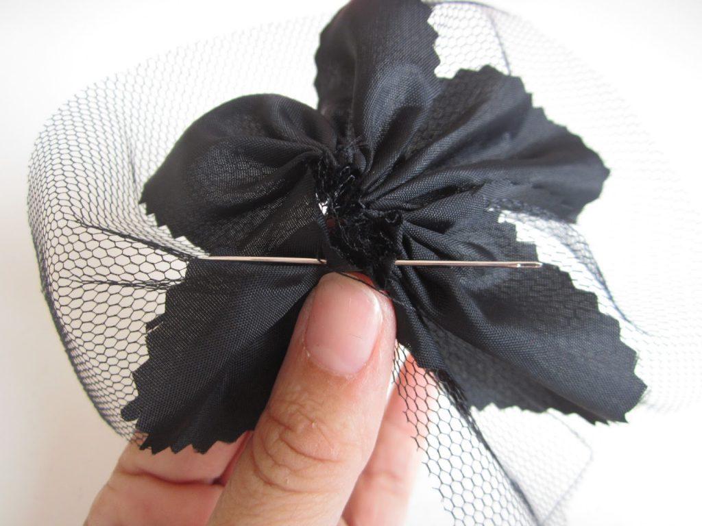 mis nancys, mis peques y yo, tutorial facil DIY tul y tela coser punto