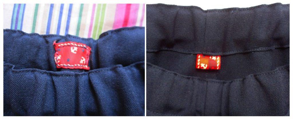 mis nancys, mis peques y yo, pantalones cortos La Inglesita etiqueta