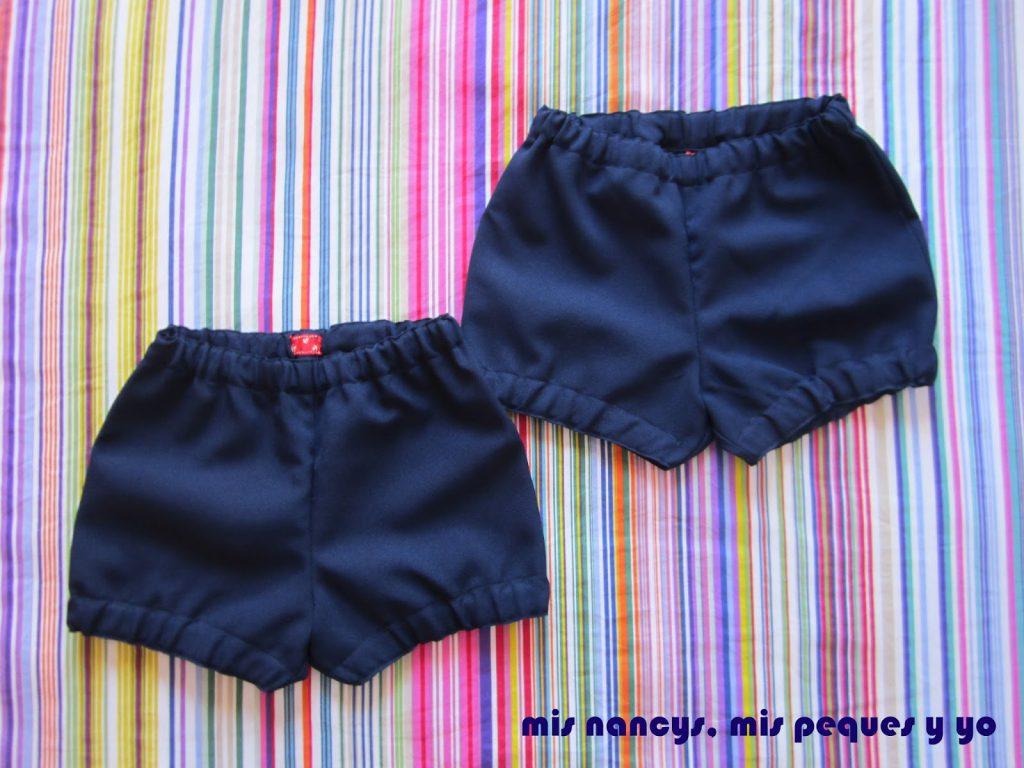mis nancys, mis peques y yo, pantalones cortos La Inglesita dos