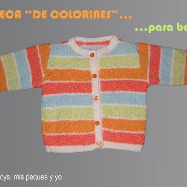 """Rebeca """"de colorines"""" para bebé"""