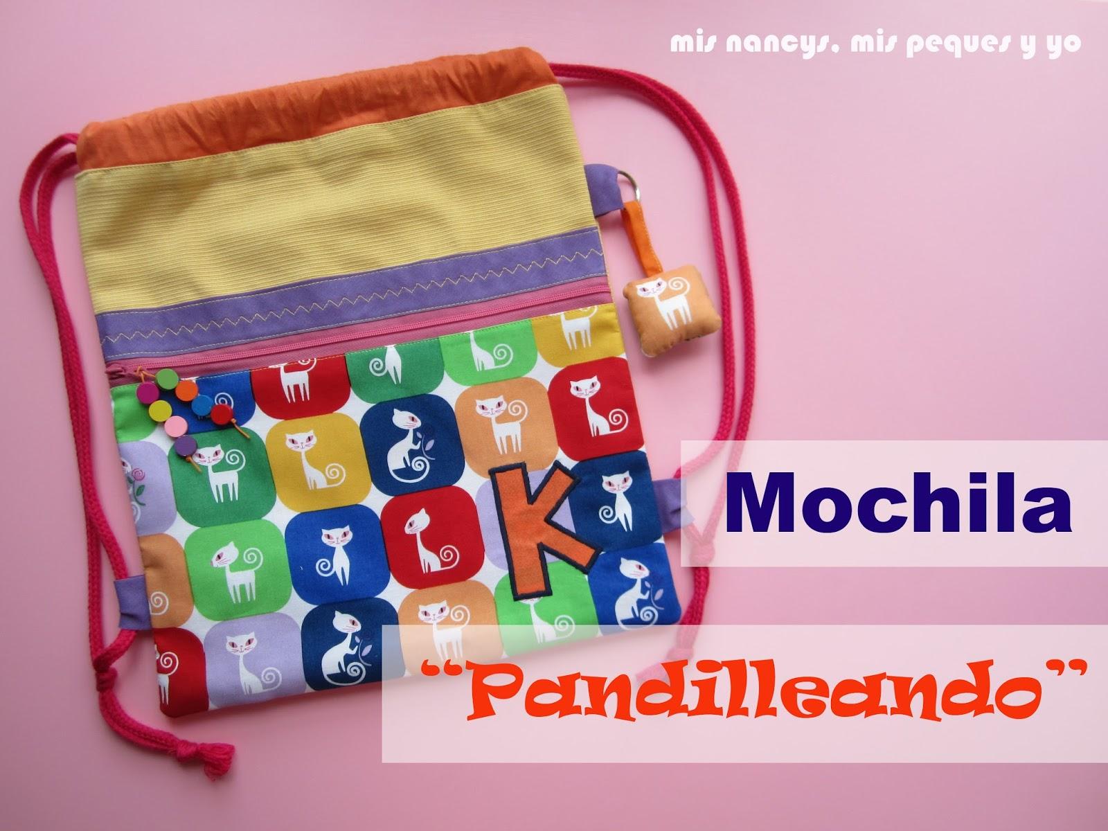 """Mochila """"Pandilleando"""" (Regalos para 7, parte 1)"""