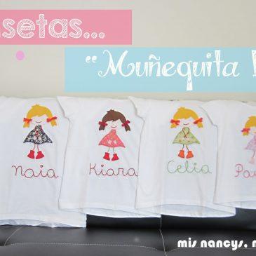 """Camisetas """"Muñequita Linda"""" (Regalos para 7, parte 2)"""