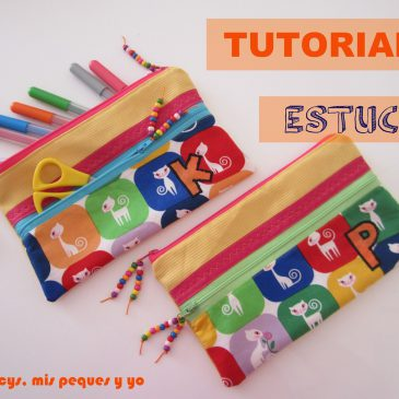 "Tutorial ""Estuches escolares"""