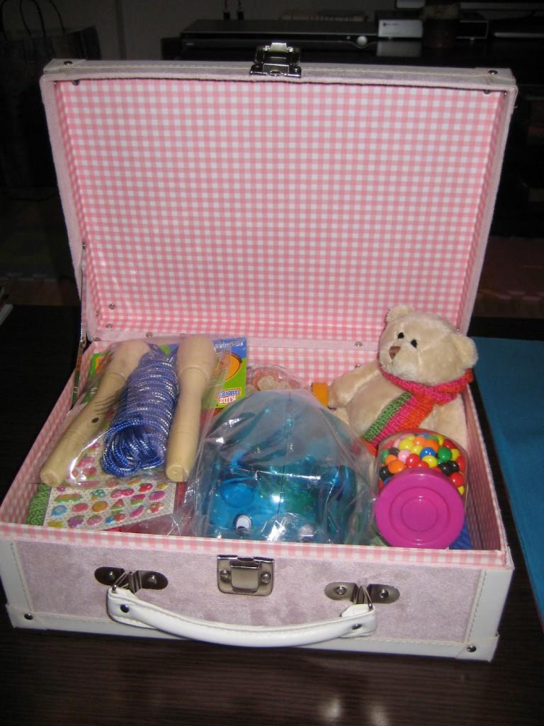 mis nancys, mis peques y yo, bufanda tricolor niña caja regalo