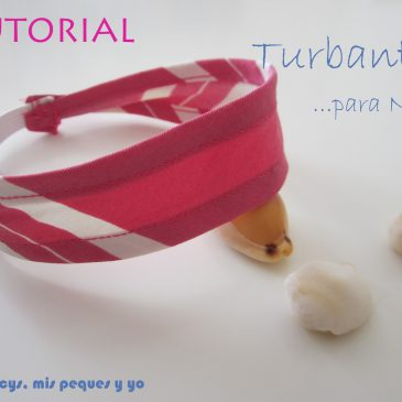 Tutorial Turbante Playero para Nancy