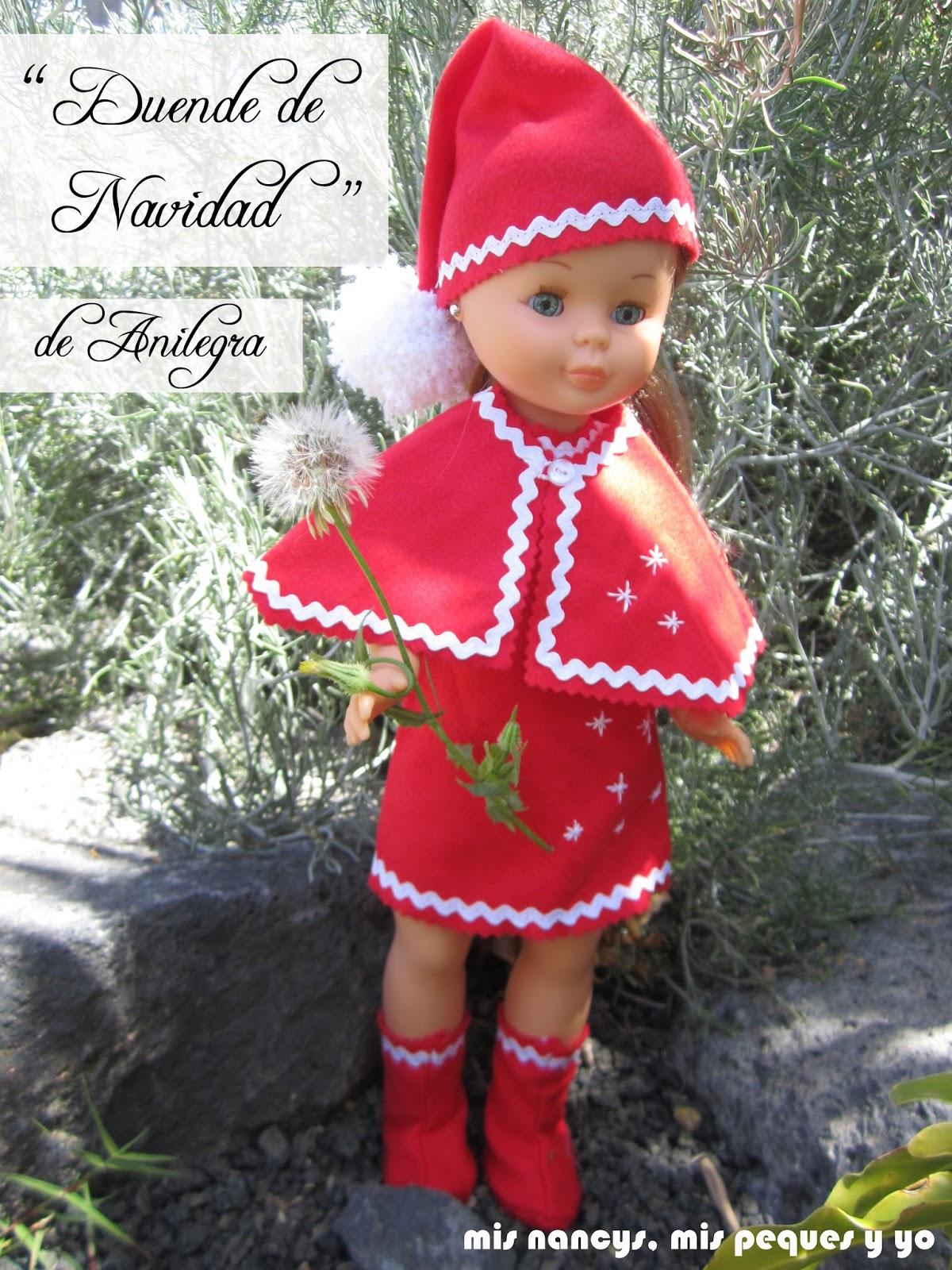 "Disfraz ""Duende de Navidad"" de Anilegra para Nancy"