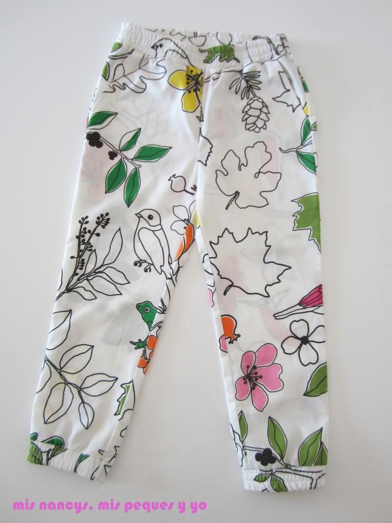 mis nancys, mis peques y yo, pantalón fluido para niñas, pantalón entero