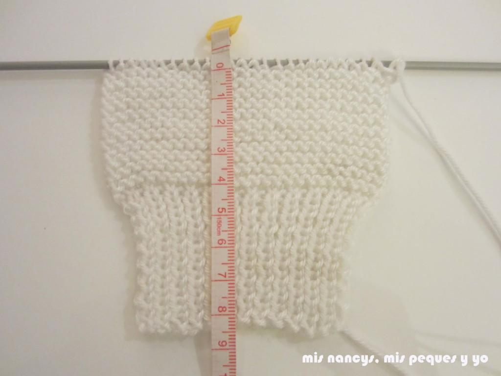 mis nancys, mis peques y yo, tutorial jersey de lana para Nancy, Punto bobo
