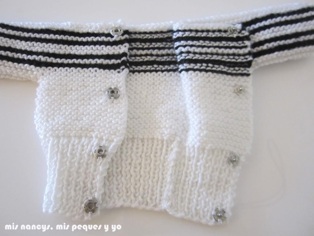 mis nancys, mis peques y yo, tutorial jersey de lana para Nancy, parte delantera, cosemos cleck