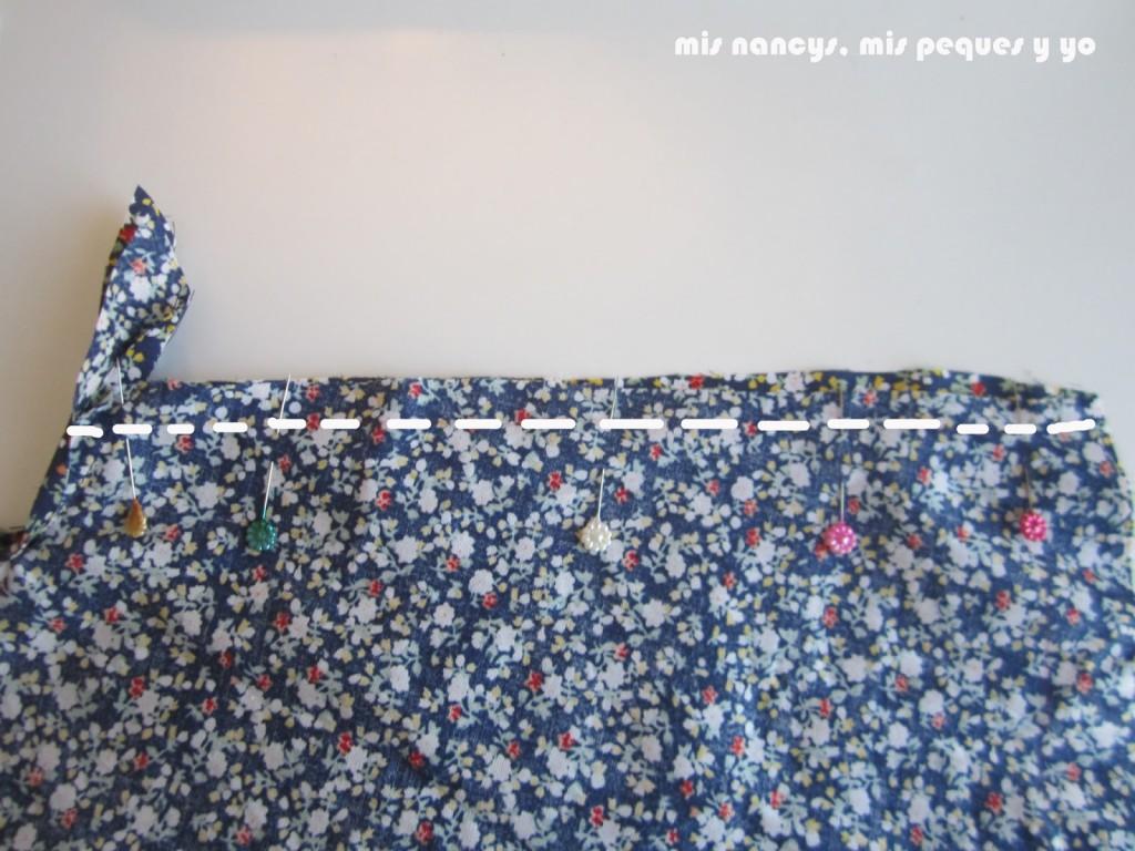 mis nancys, mis peques y yo, tutorial blusa sin mangas niña (patrón gratis), coser costados