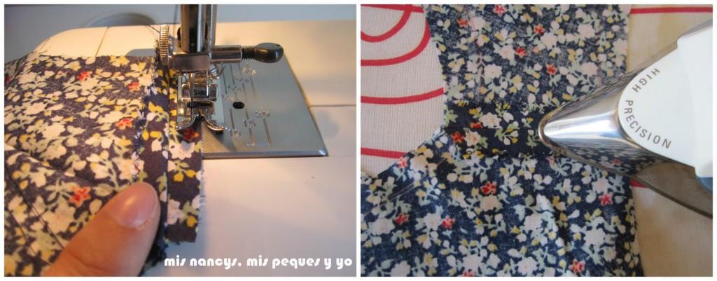 mis nancys, mis peques y yo, tutorial blusa sin mangas niña (patrón gratis), planchar costuras abiertas hombros