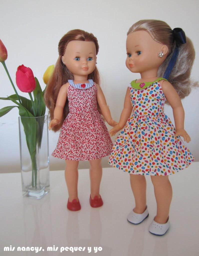 mis nancys, mis peques y yo, vestidos primavera para nancy de anilegra, vestidos
