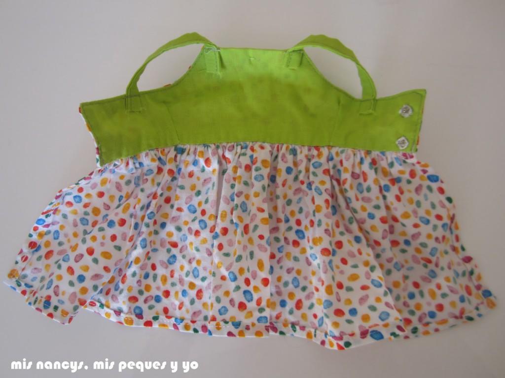 mis nancys, mis peques y yo, vestidos primavera para nancy de anilegra, detalle interior vestido