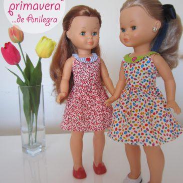"Vestidos ""Primavera"" de Anilegra para Nancy"