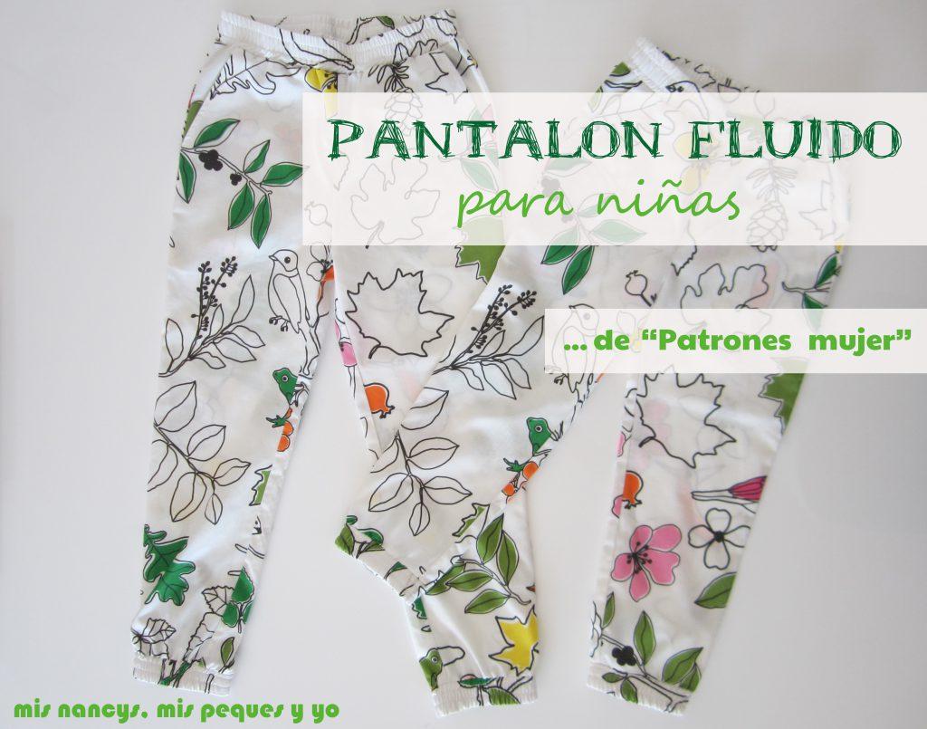 a72027bd7 Pantalon fluido para niñas - mis nancys