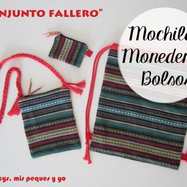 Mochilas, bolsos y monederos falleros