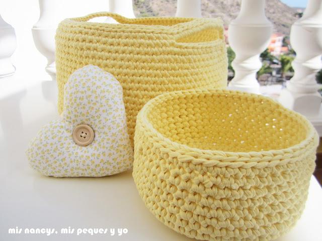 mis nancys, mis peques y yo, capazo de trapillo, conjunto de capazo y cesta