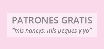 "mis nancys, mis peques y yo, cuadro patrones gratis ""mis nancys, mis peques y yo"""