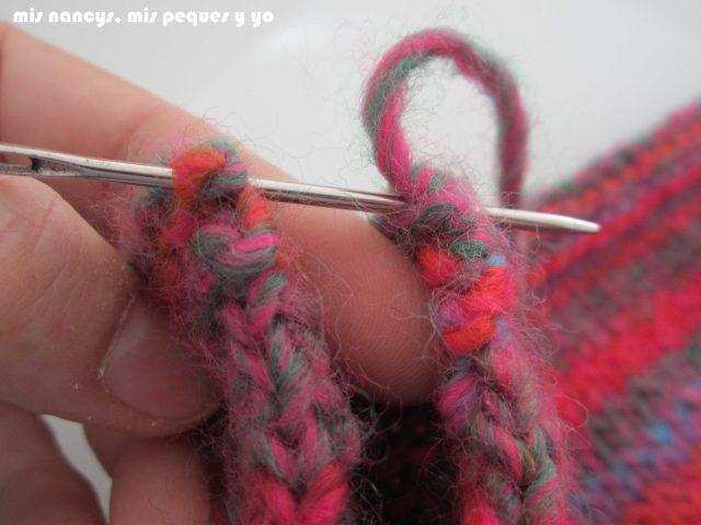 mis nancys, mis peques y yo, Tutorial DIY como coser un jersey de lana, iniciar la costura