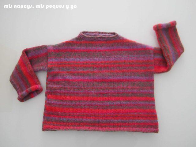 mis nancys, mis peques y yo, Tutorial DIY como coser un jersey de lana, jersey terminado sin bufanda