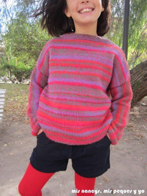 mis nancys, mis peques y yo, Tutorial DIY como coser un jersey de lana, jersey de lana Katia invierno