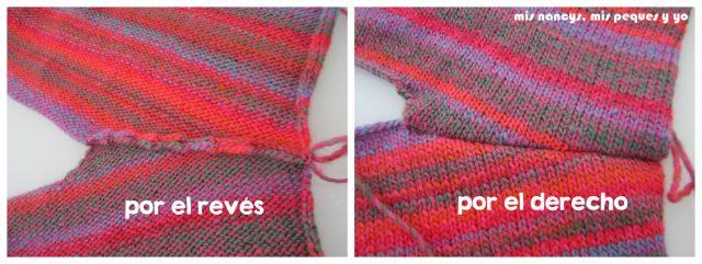 mis nancys, mis peques y yo, Tutorial DIY como coser un jersey de lana, costura hombro