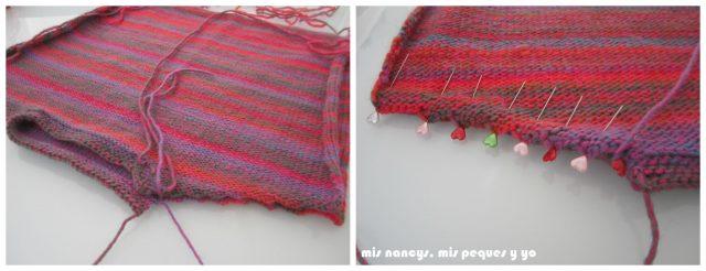 mis nancys, mis peques y yo, Tutorial DIY como coser un jersey de lana, coser el otro hombro