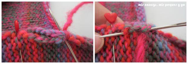 mis nancys, mis peques y yo, Tutorial DIY como coser un jersey de lana, coser manga