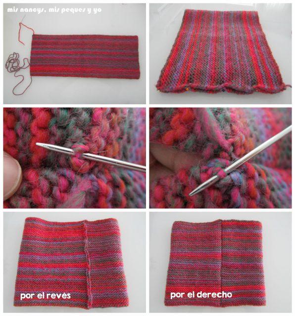 mis nancys, mis peques y yo, Tutorial DIY como coser un jersey de lana, coser el cuello o bufanda