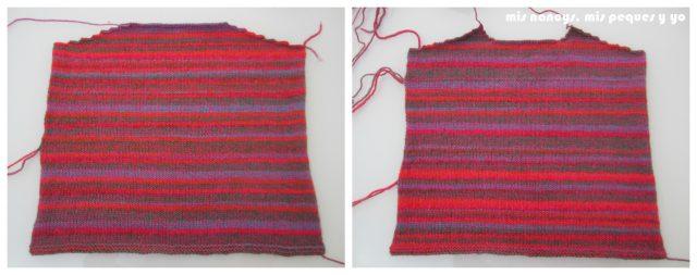 mis nancys, mis peques y yo, Tutorial DIY como coser un jersey de lana, piezas bloqueadas