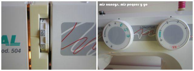 mis nancys, mis peques y yo, Tutorial falda fruncida con tul para Nancy y niñas, preparar máquina de coser para pespunte normal