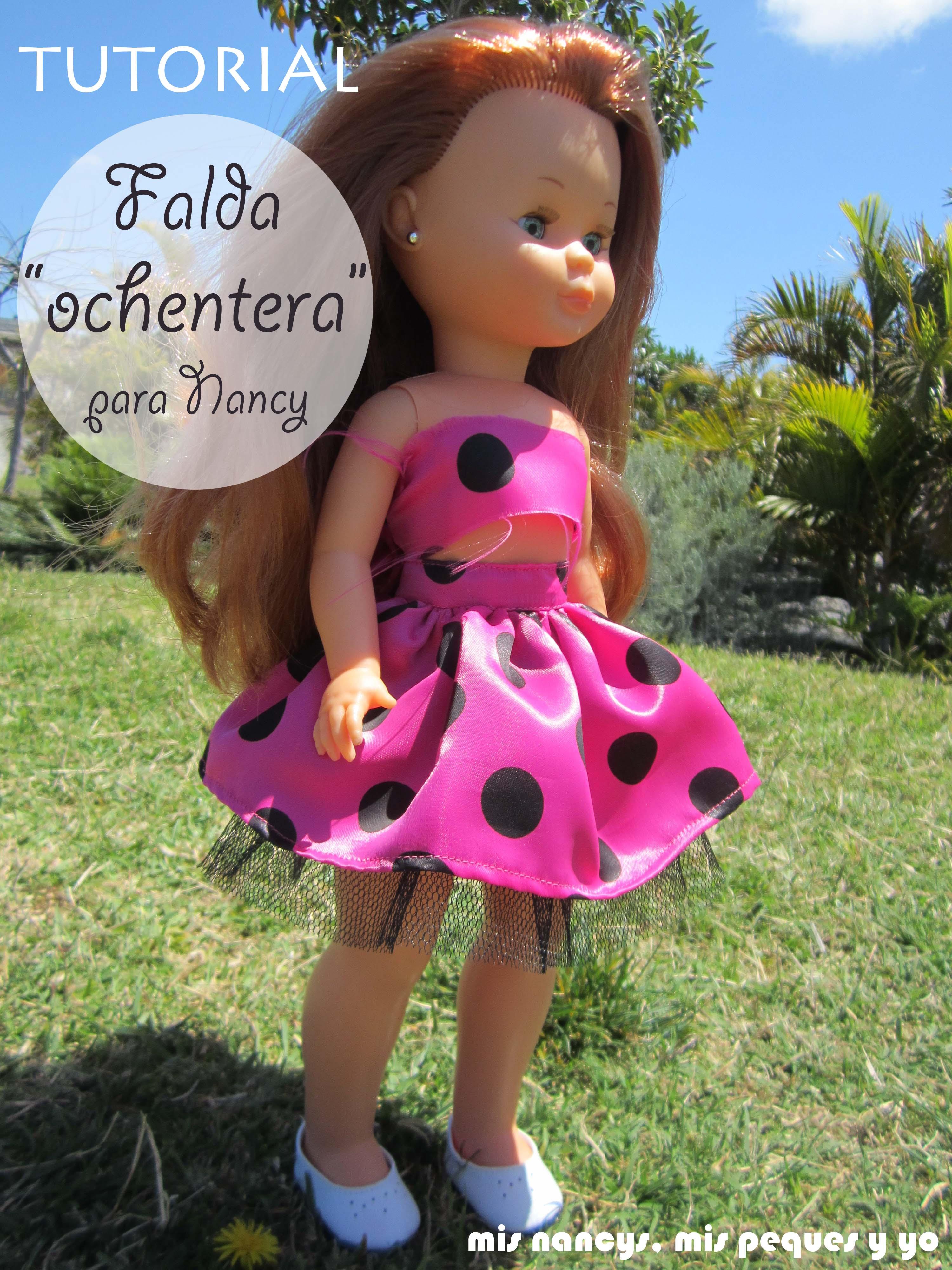 """Tutorial DIY: Falda fruncida con tul """"Ochentera"""" (para Nancy y para ni?as)"""