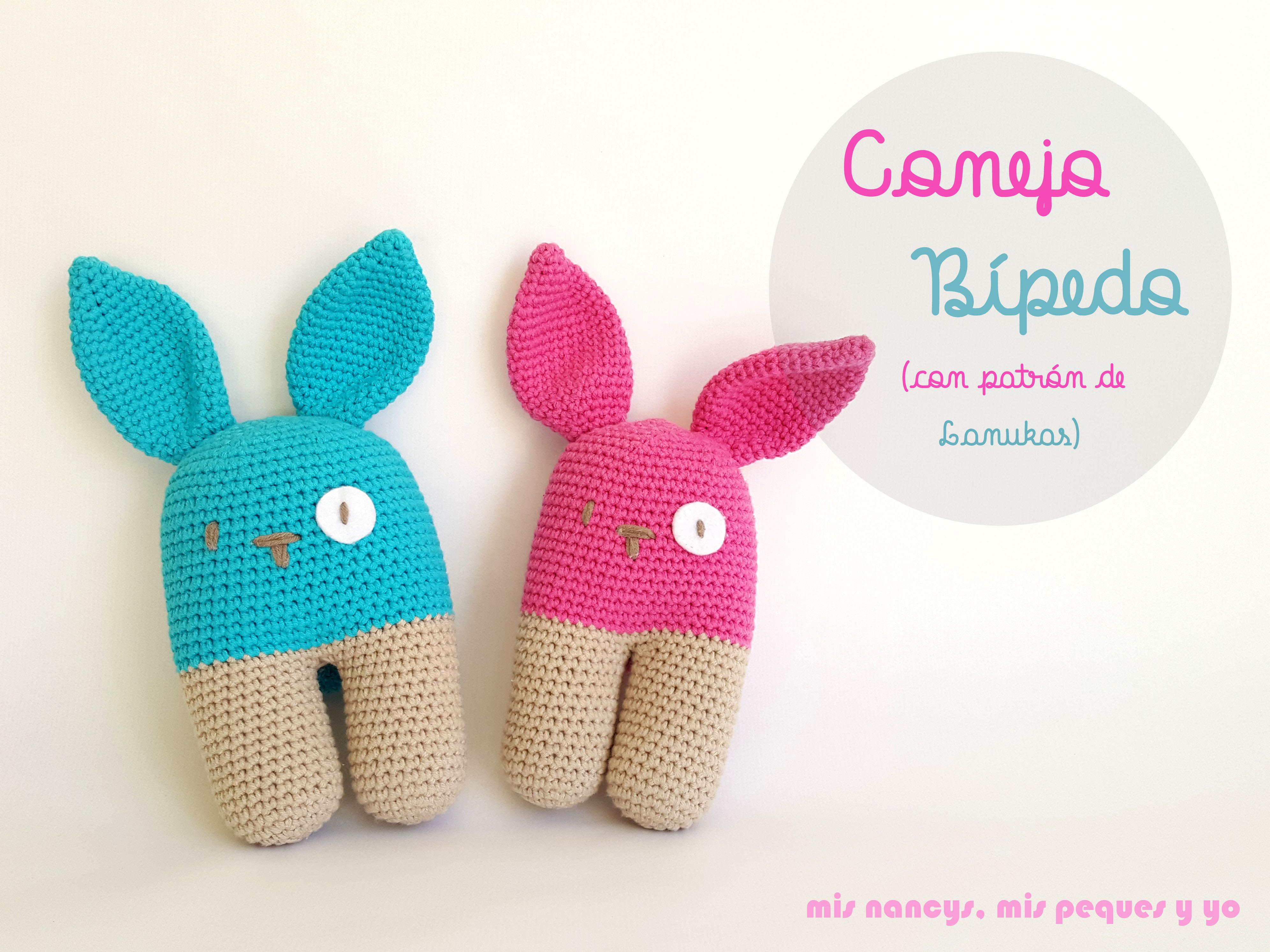 Amigurumis Conejos Paso A Paso : Conejitos a crochet bunny youtube