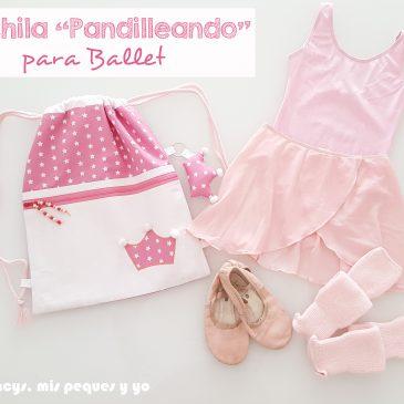 """Mochila """"Pandilleando"""" para Ballet"""