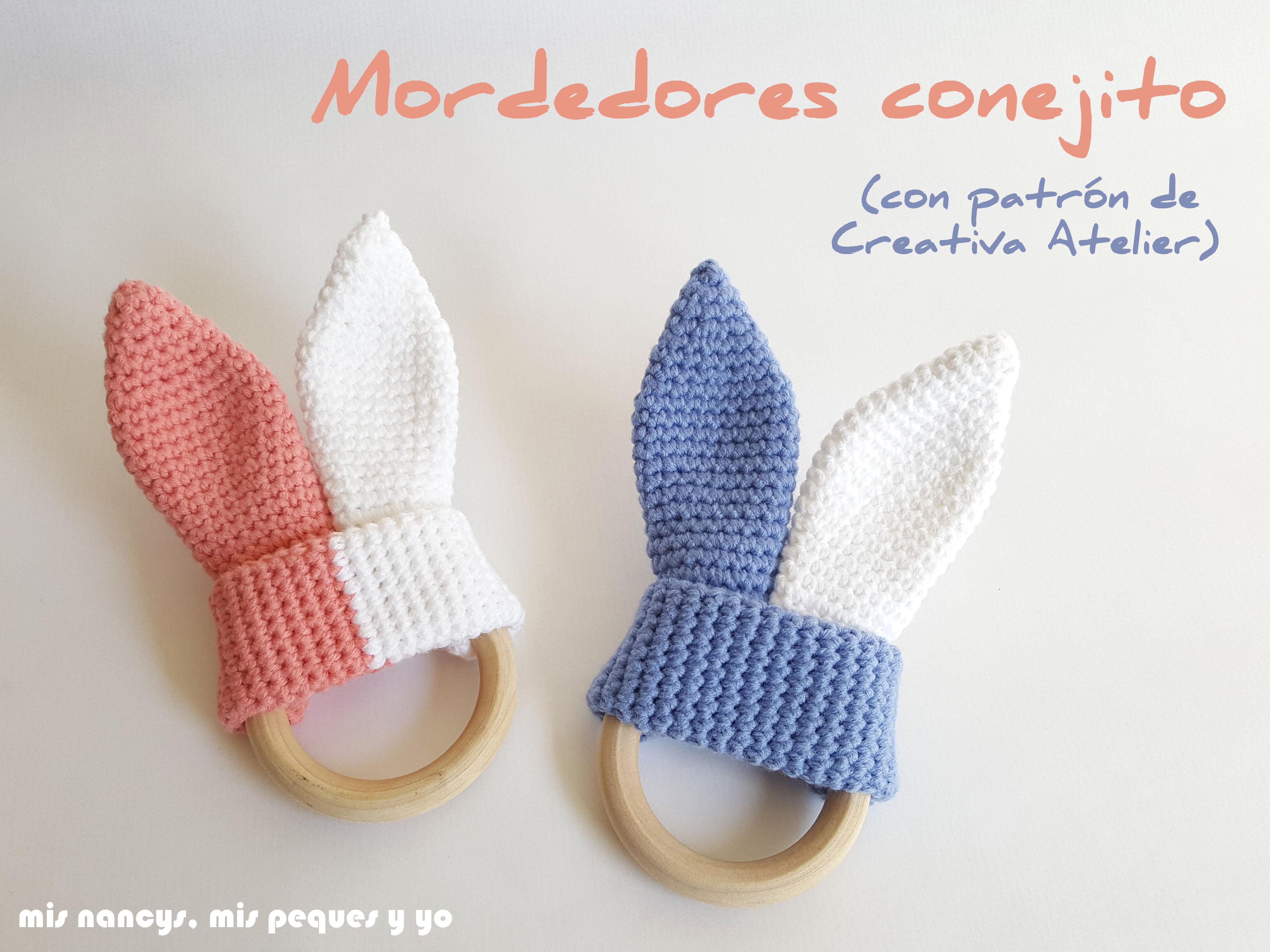 Mordedores conejito de crochet – mis nancys mis peques y yo